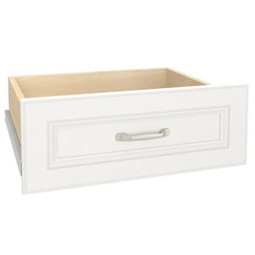 pressions kit deluxe white 25 x 10 (Deluxe Closet System)