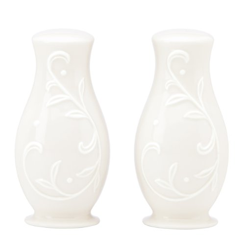 (Lenox Opal Innocence Carved S and P Shaker Set )