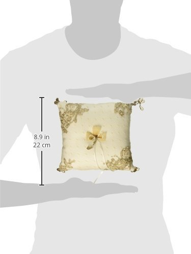 Ivory Bella Donna Wedding Accessories Ring Pillow