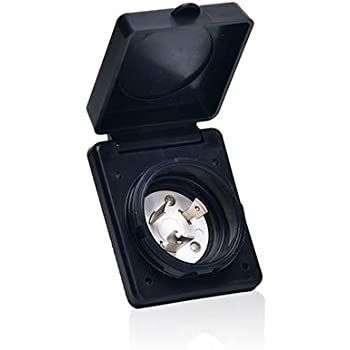 Trekpower 125v 30 Amp Rv Power Plug Twist Lock Inlet With