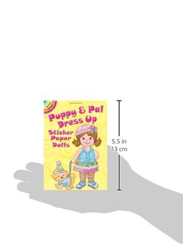 Puppy & Pal Dress Up Sticker Paper Dolls (Dover Little Activity Books Paper Dolls)