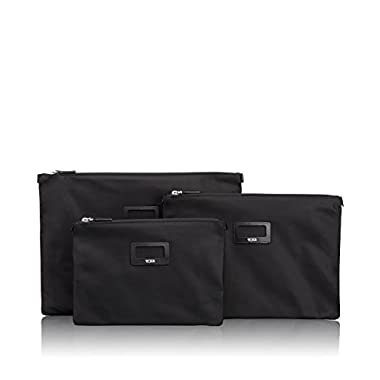 Tumi Journey 3 Pouch Set, Black, One Size