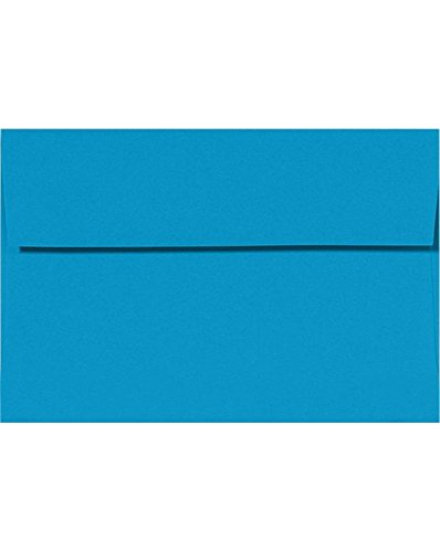 A9 Invitation Envelopes w/Peel & Press (5 3/4 x 8 3/4) - Pool Blue (1000 Qty.)