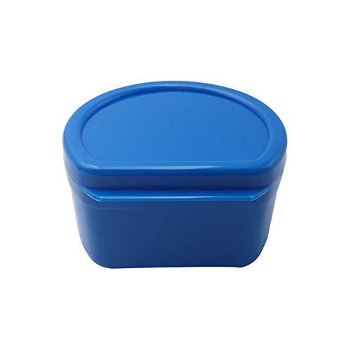 - YAYUMI Denture Bath Box Case Dental False Teeth Storage Box with Hanging Net Container,9.2 X 8.5X 5. 7cm