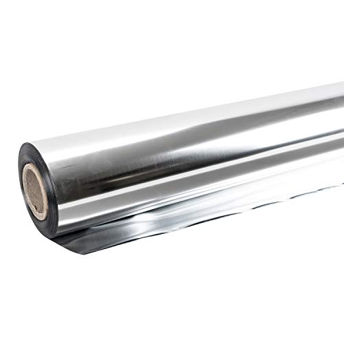 CastleGreens Highly Reflective Mylar Film Roll 4FT x 100FT 2 Mil Aluminum Foil by CastleGreens (Image #4)