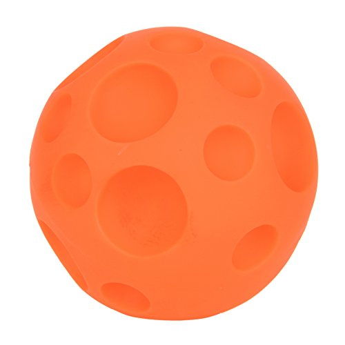 Tricky Treat Ball (Orange Interactive Trick and Treats Dispenser Ball Premium Pet Toy)