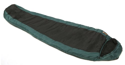 Snugpak Travelpak 3 Sleeping Bag, Green/Black by SnugPak