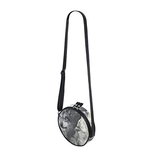 Shoulder Bag Round COOSUN for Crossbody Satchel Sling Women Kids Wolfs Shoulder Bag Handbag Roaring Purse Bag wISS1xX