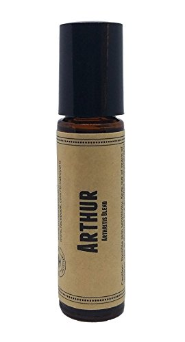 Arthur Pre-Diluted Essential Oil Roll-On Blend 10ml (1/3oz)   Arthritis, Joint Support, Pain Relief, Swelling, Bumps, Bruises