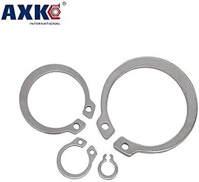 Ochoos 50 Pieces 30mm 304 Stainless Steel Internal Circlip Snap Retaining Ring
