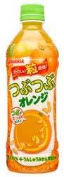 サンガリア つぶつぶオレンジ 500mlペットボトル×24本入
