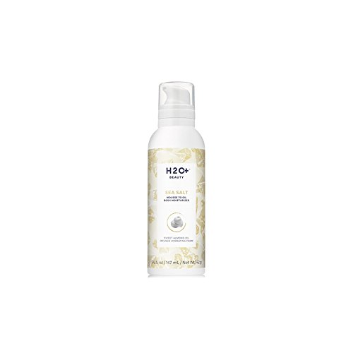 H2O+ Beauty Mousse to Oil Body Moisturizer Whipped Hydrating Foam, Sea Salt, 7.22 (Whipped Body Mousse)