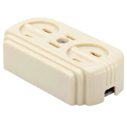 Legrand Ivory Pass /& Seymour 746ICC10 Surface Outlet