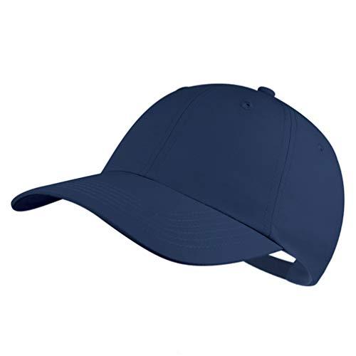 Quivk Dry Dad hat Summer Polo Baseball Cap Mens Outdoor Running Run Sports Sport Hats Cool UV Sun Caps Light Breathable Travel Golf Unstructured Trucker Hat for Men Women Girls ()
