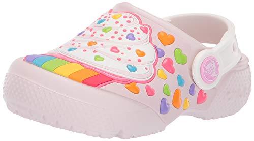 Crocs Kids' Fun Lab Cupcake Clog, Barely Pink, 13 M US Little Kid