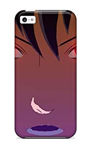 New Style 9024100K64134812 Top Quality Case Cover For Iphone 5c Case With Nice Sasuke Appearance