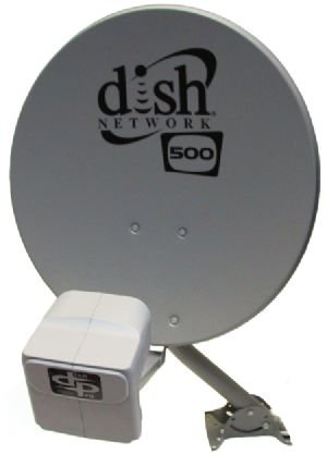 DISH Network Satellite 500 w/ DPP Twin Pro Plus LNB