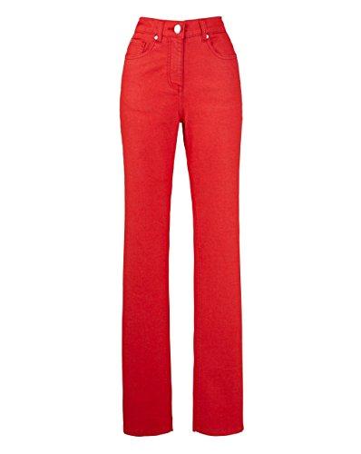 Straight Leg Tomato JD Bright Womens Williams Jeans zBSaxP