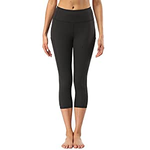 JCBABA High Waist Yoga Pants Workout Sport Leggings For Women With Pockets - Not See Through