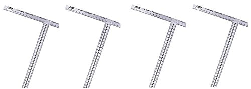 Walboard Tool 88-012/WTS-50 48'' Drywall T-Square (4-(Pack))