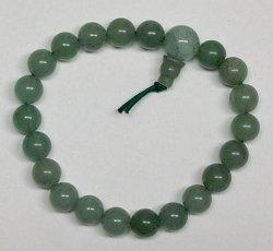 Bracelet: Power Green Aventurine, elastic (JBBAV)