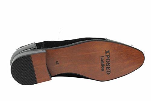 Xposed lacets Noir Chaussures homme à nzqxaSwqZ