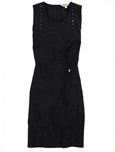 Garcia solide schwarze Jersey-Schweiß-Kleid