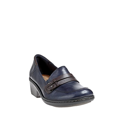 buy cheap in China shopping online with mastercard Rockport Cobb Hill Women's Deidre Keeper Loafer Navy Full Grain Burnished Leather online cheap authentic with mastercard outlet perfect xFAZQNPGcL