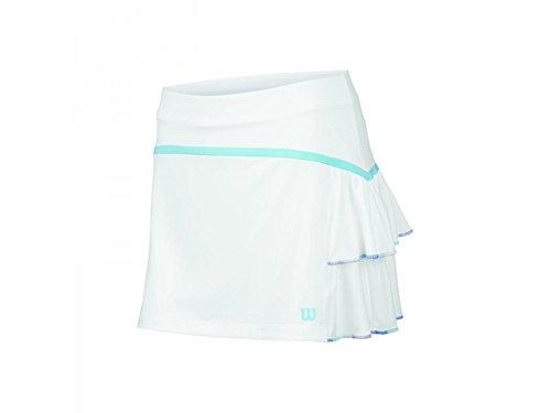 Wilson WRA708302XS - Falda para mujer, color blanco, talla XS Blanco