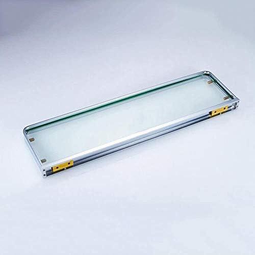 バスルームラックパーティション強化ガラスのベッドルームバスルームクローゼット51.3 * 15 * 3センチメートルをウォールマウント LCSHAN