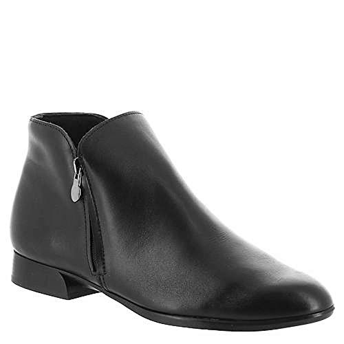 Munro Womens Averee Leather Almond Toe Ankle Fashion Boots, Black, Size 7.0