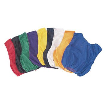 Champion Sports Youth Practice Scrimmage Vest, Yellow, (Pack of 12) Champion Sports Apparel