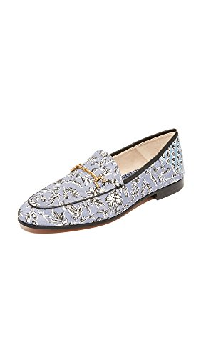 Sam Edelman Women's Loraine Loafer, Dusty Blue Printed Fabric