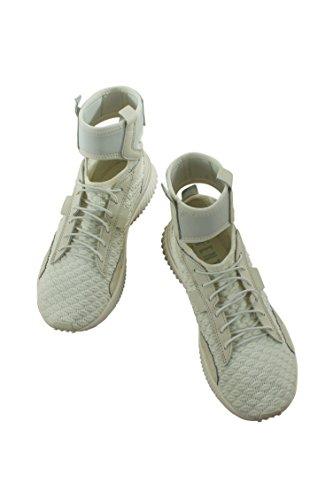 PUMA Women's Fenty x Trainer Mid Geo Sneakers, Vanilla Ice/Sterling Blue, 9.5 B(M) US