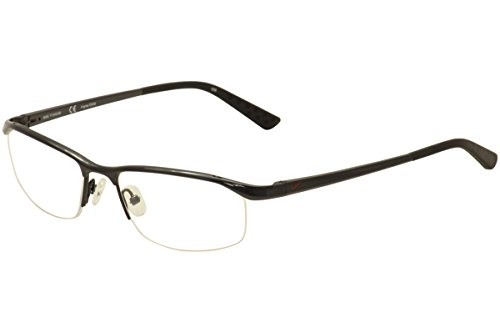 bdad4d15a2 Nike Eyeglasses 6037 001 Black Chrome Demo 51 17 135 - Buy Online in UAE.