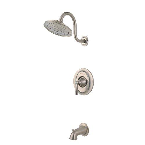 Pfister Saxton 1-Handle Tub & Shower Trim, Brushed Nickel ()
