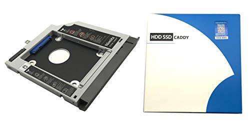 2nd HDD SSD hard drive caddy For Lenovo ideapad 320 330 520 with Gray bezel