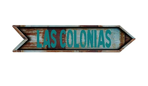 Amazon.com: Any and All Graphics LAS COLONIAS 8