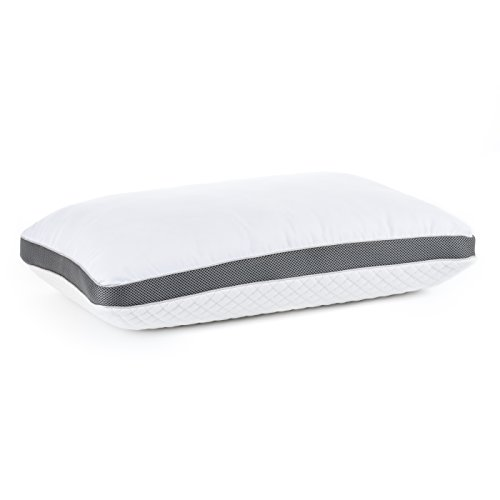 Diamond Rest Gel Memory Foam Pillow by Perfect Cloud - A Ventilated...