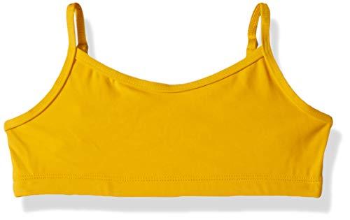Capezio Big Girl's Team Basic Camisole Bra Top Bra, Pure Gold, Medium, Medium ()