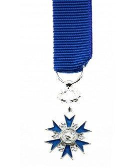 Le Comptoir Des Médailles - Médaille Chevalier de l'Ordre National du Mérite Bronze Argenté - DEMRC0ONMER