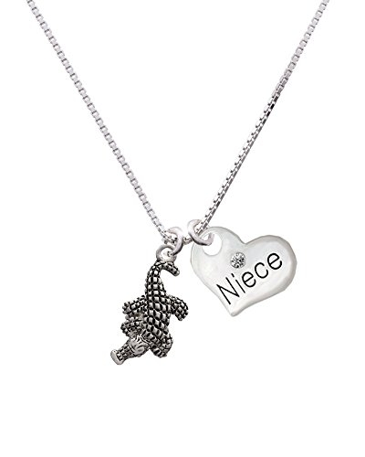 Delight Jewelry Alligator Family Necklace product image