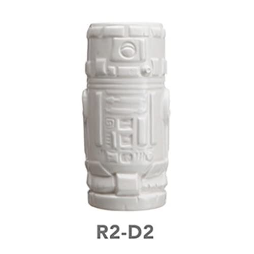 ThinkGeek Geeki Tikis R2-D2 14-Ounce Ceramic Drinking Mug - Officially-Licensed Star Wars Merchandise
