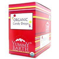 Yummy Earth Organic Root Beer Candy Drop, 3.3 Ounce - 6 per case.
