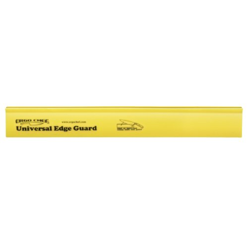 Knife edge guard 12 inch x 1.5 inch yellow knife sleeve protector by Ergo Chef - Edge Knife Guard
