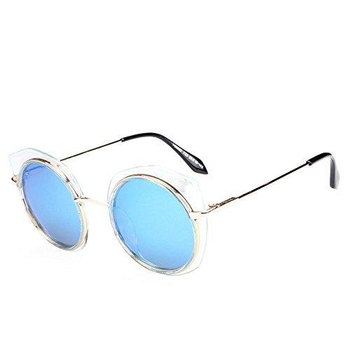 la polarisé de rondes de Uv400 99 de lunettes protection d'ombre dames Les élégantes frontière ont blue 5vwtxzWq