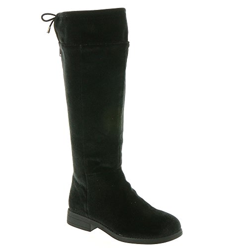 Sugar Kids Cheesecake Velvet Tall Shaft Boot with Drawstring 13 ()