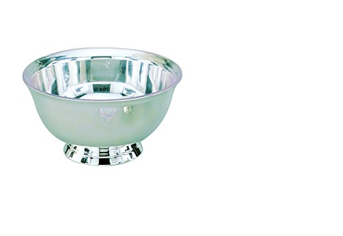 Elegance Silver 82576 Silver Plated Revere Bowl with Liner, 6