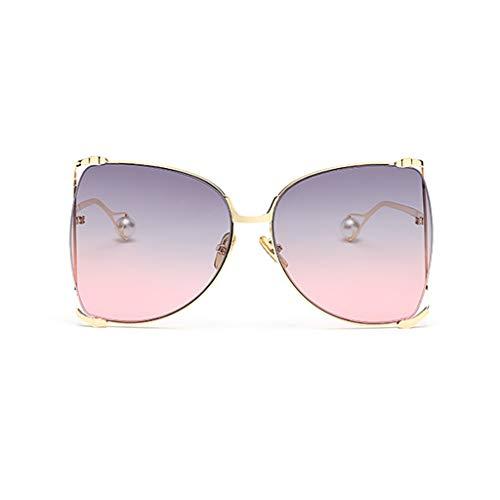 Couleur Nouvelle C B Des de Femme lunettes Street coréenne soleil rétro Soleil Box Big dégradées Beat Sport Version Lunettes de de Personality xqCqH1wX