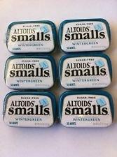Tj8 Altoids Smalls Wintergreen Sugar Free - 9 Pack of .37...